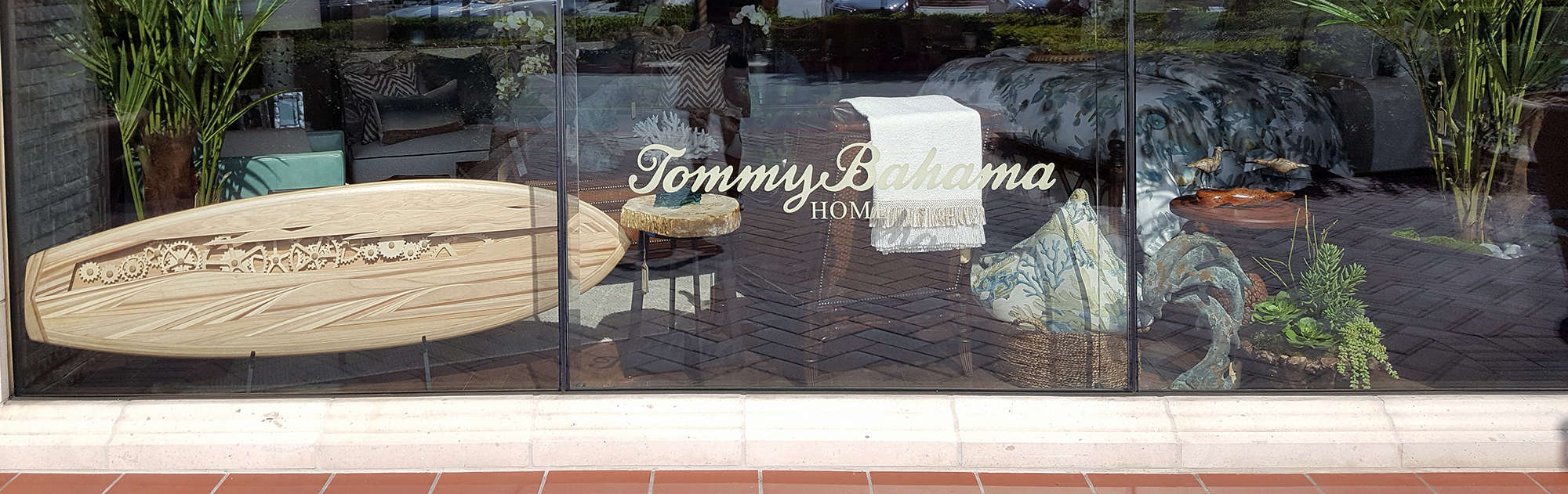 tommy bahama wood surfboards